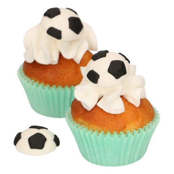 Funcakes Zucker Dekoration Fußball 8 Stück