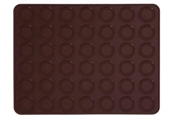 Pavoni Silikon Backmatte für 42 Macaron