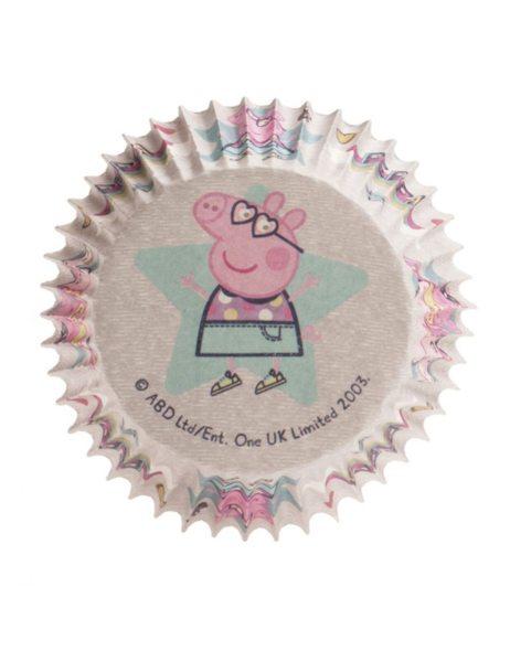 Dekora Muffinförmchen Peppa Pig - 25 Stück
