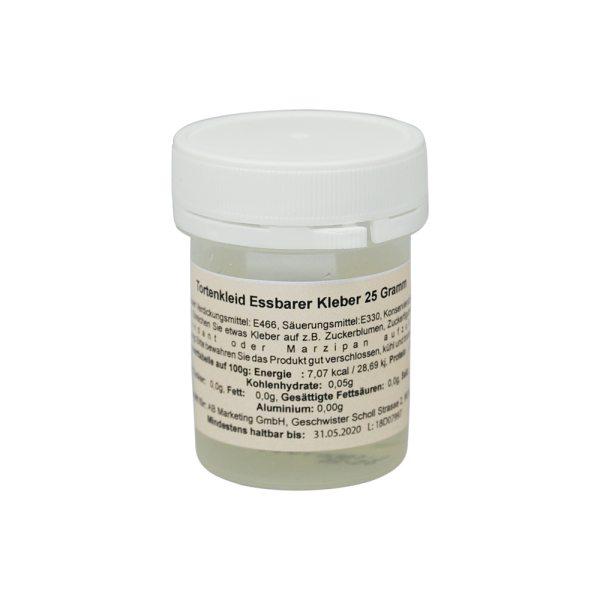 Tortenkleid Esspapier-Kleber (25g / wiederverschließbar)