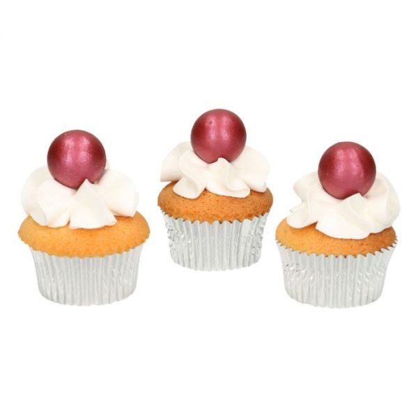 Funcakes Schokokugeln Pearl Ruby 8 Stück