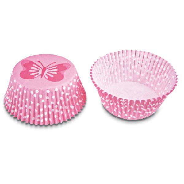Städter Mini Muffinförmchen Schmetterling 50Stück