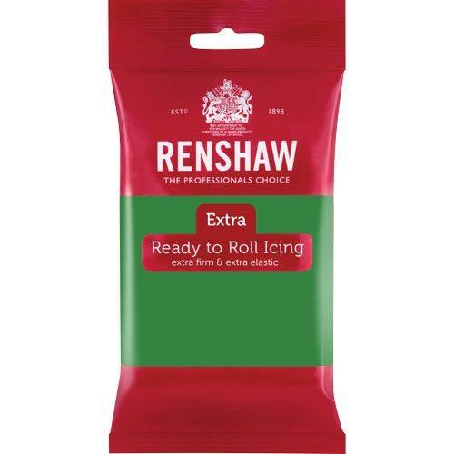 Renshaw Rolled Fondant Extra 250g -Grün-