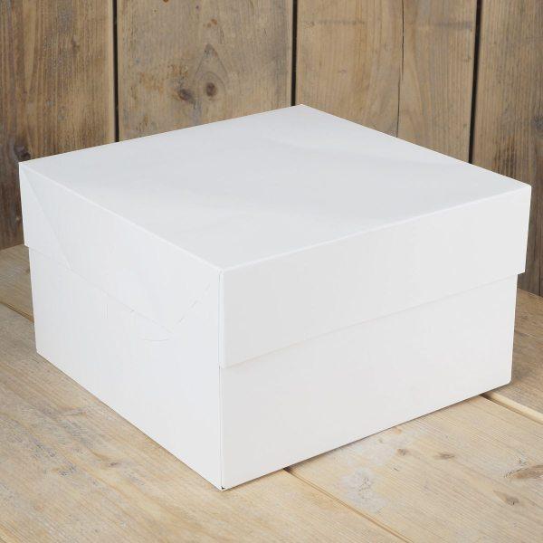 Tortenkarton / Cake Box Blanko 35 x 35 x 15cm