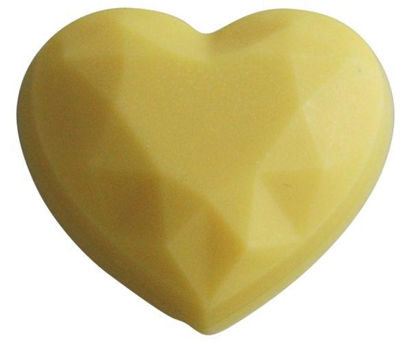 Tortenkleid Kakaobutter Farbe Gelb 30g