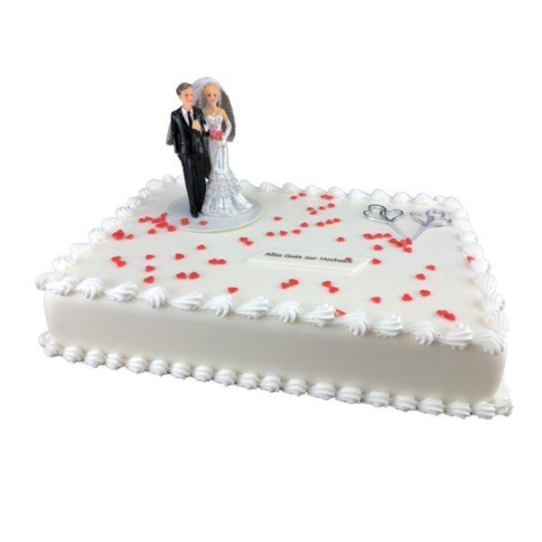 Tortendekoration Hochzeitstag