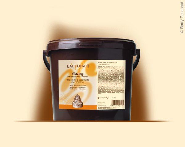 Callebaut Fondant / Dekorpaste  weiß 7 kg Eimer