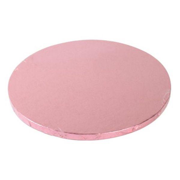 Tortenplatten rund Pink 30cm / 1 Stück