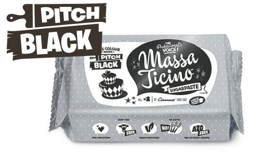 Massa Ticino Tropic 1 Kg Pack schwarz