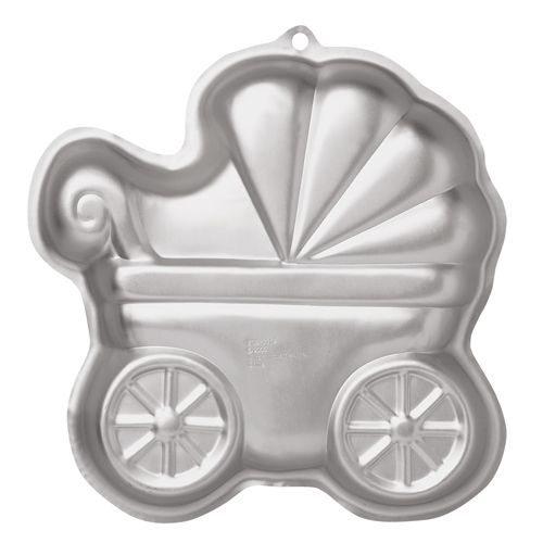 Tortenkleid Kinderwagen Backform