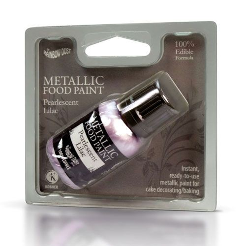 RD Metallic Food Paint Lilac 25ml
