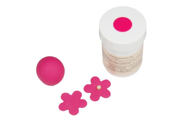 Tortenkleid Pastenfarbe Pink 30g