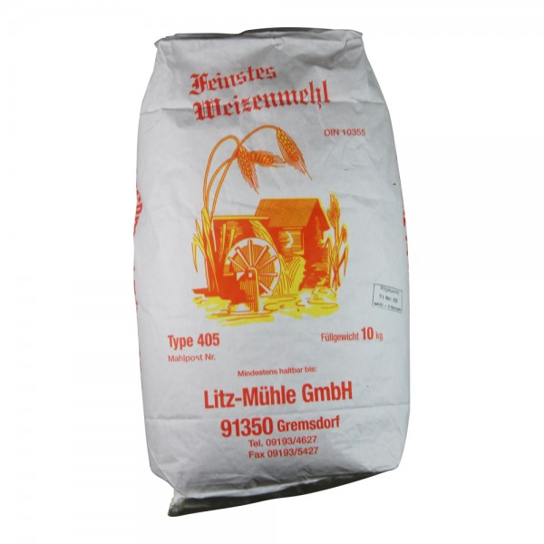 Weizenmehl Typ 405 Litz-Mühle, 5kg