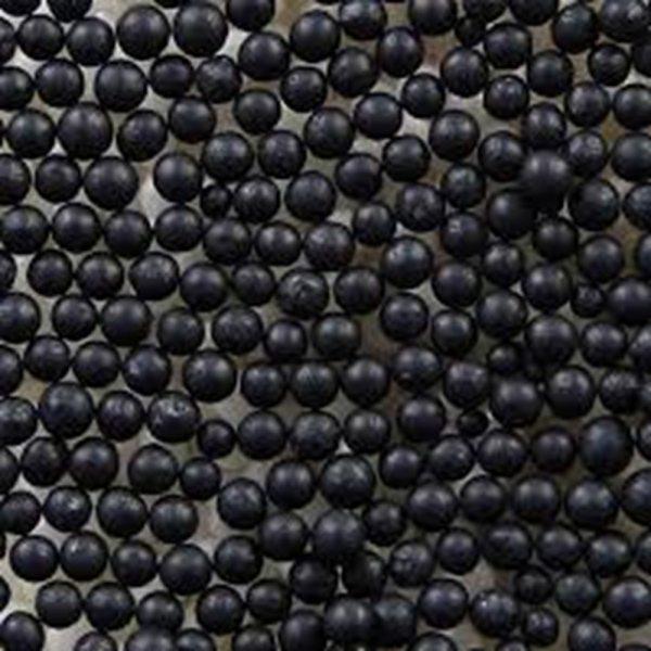 Zuckerperlen 4mm schwarz 500g