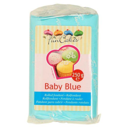 FunCakes Fondant -Baby Blue- -250g-