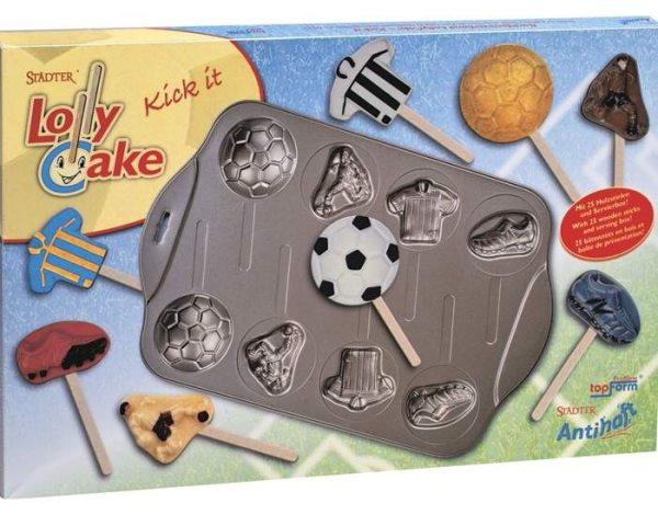 """Städter Kuchen am Stiel (Lolly Cake) """"Fussball/Fußball"""""""