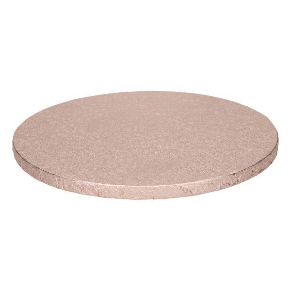 Tortenplatte rund Roségold 25cm - 1 Stück