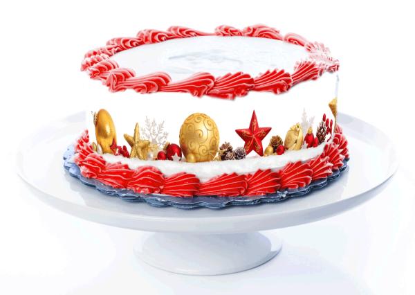 Tortenband Weihnachten 2
