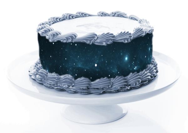 Tortenband Weltall