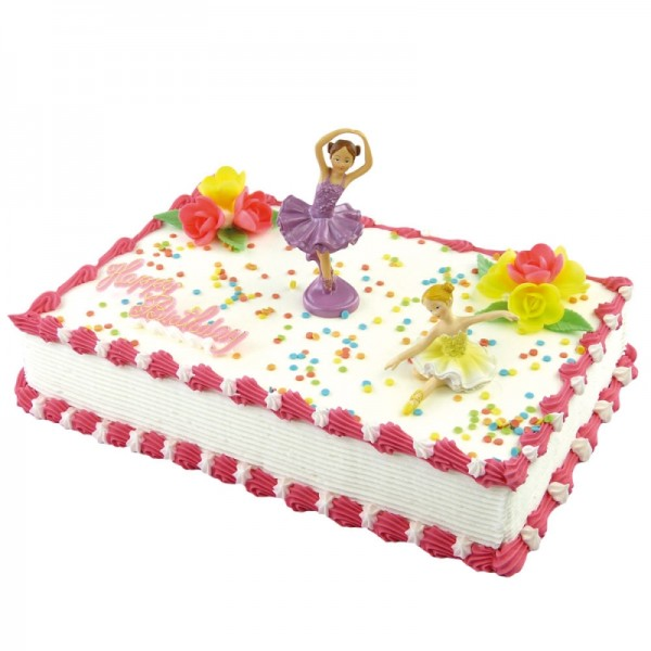 Tortendekoration Geburtstag Ballerina