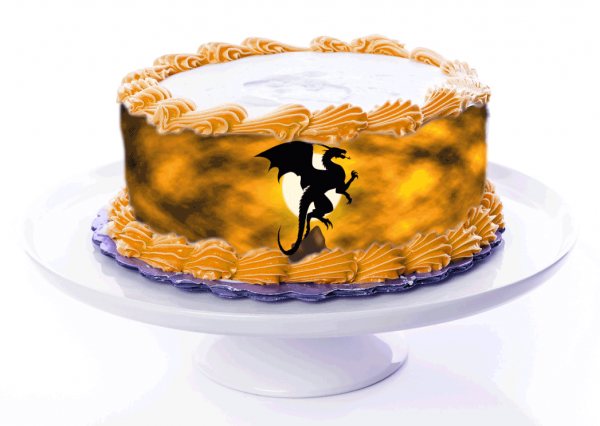Tortenband Drache