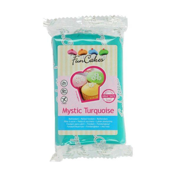 FunCakes Fondant - Mystic Turquoise -250g-