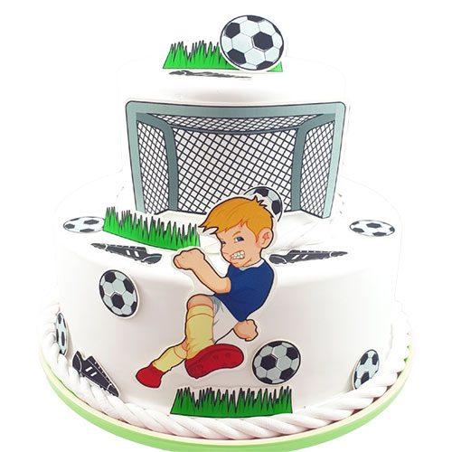 Tortenaufleger Kuchen Tattoo Fußball