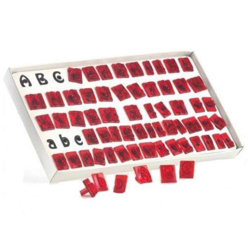 JEM Alphabet Set, 64 Teile