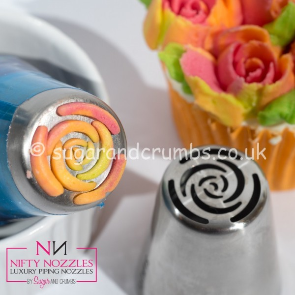 Nifty Nozzles Icing Tülle 10-blättrige Rose