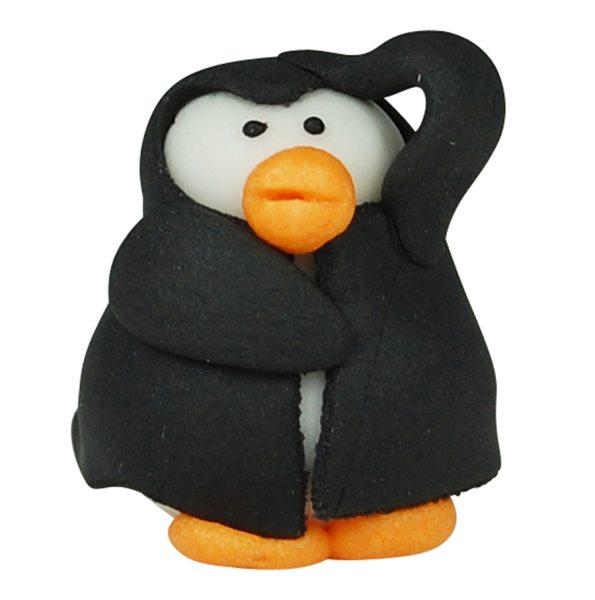 3D Zucker Figur Afrika -  Pinguin 1 Stück