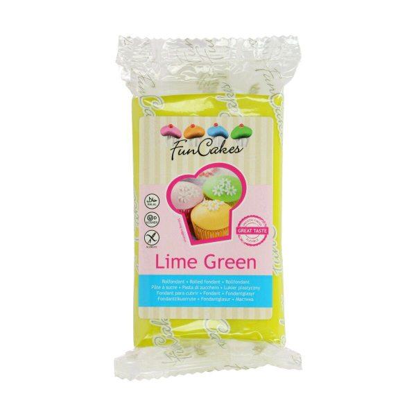 FunCakes Fondant - Lime Green -250g-