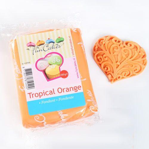 Funcakes Rollfondant (Orange / 250gr)