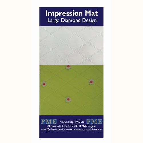 PME Impression Mat Diamond -Large-