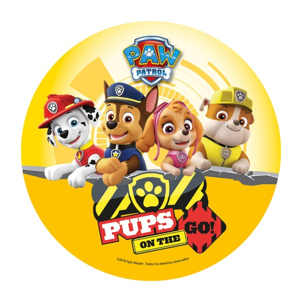 Paw Patrol - Oblatenaufleger - Chase, Rubble, Skye & Marshall