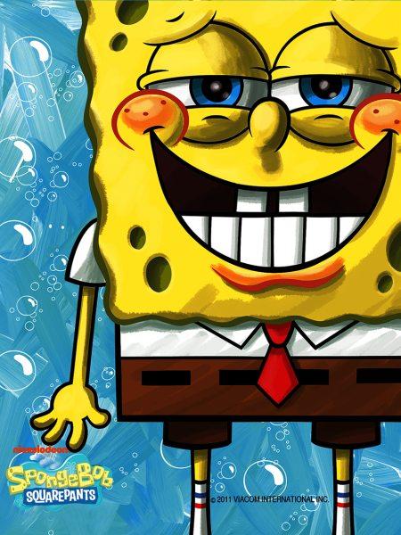 Tortenaufleger Spongebob rechteckig