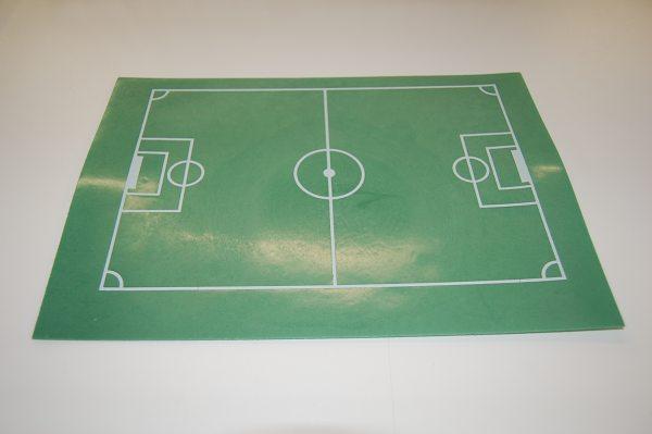 Esspapier Fussball-Spielfeld 30x20cm