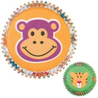 Wilton Baking cups Jungle Pals pk/75