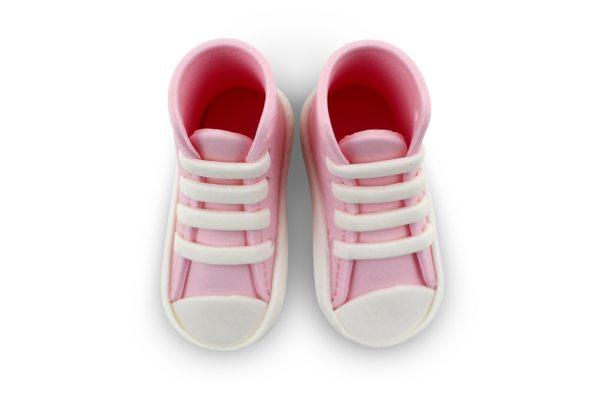 PME essbare Cake Topper Sneaker / Schuhe pink 2 Stück