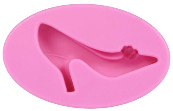 Tortenkleid Silikonform Schuh einzeln
