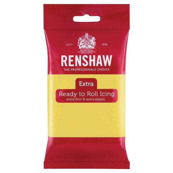 Renshaw Rollfondant Extra 250g -Pastel Yellow-