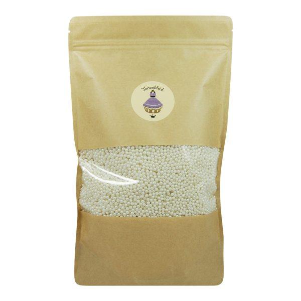 Zuckerperlen 4mm Perlmutt 1kg