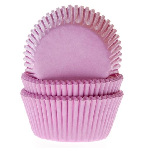 House of Marie Baking Cups Hellrosa 50/Pkg