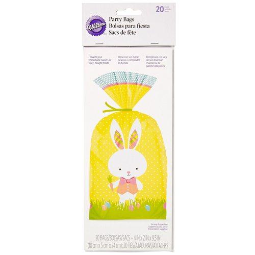 Wilton Party Bags Easter Hop & Tweet super geeignet für Kekse, Brownies uvm. 20 Stück