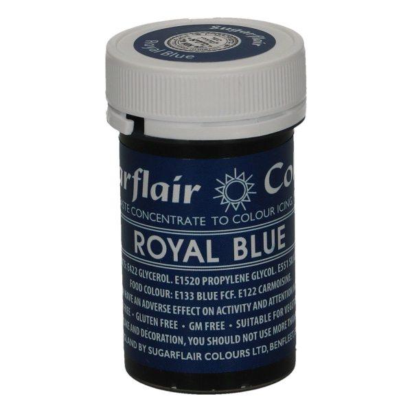 Sugarflair Paste Colour Royal Blue, 25g