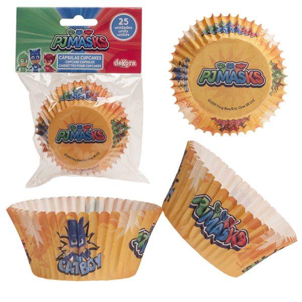 Dekora Muffinförmchen PJ Masks - 25 Stück
