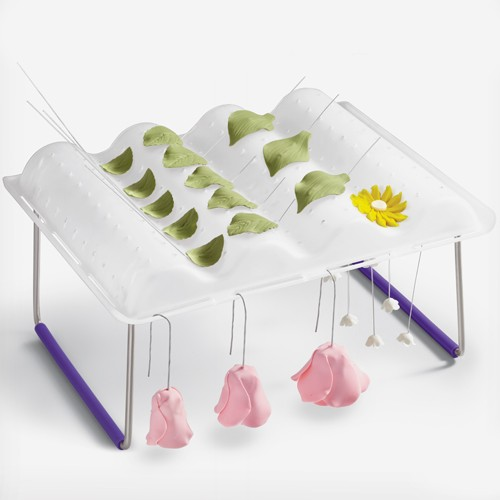 Wilton Flower Wave Drying Rack