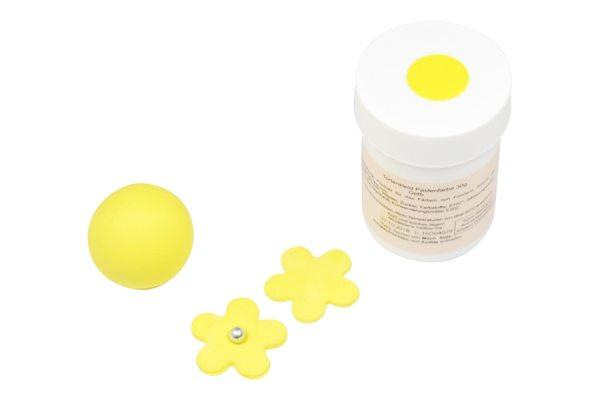 Tortenkleid Pastenfarbe Gelb 30g