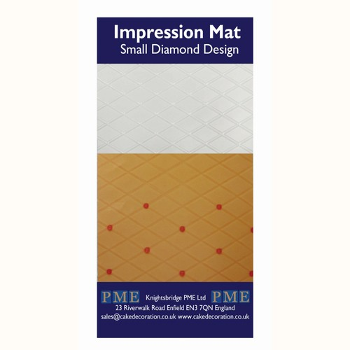 PME Impression Mat Diamond -Small-