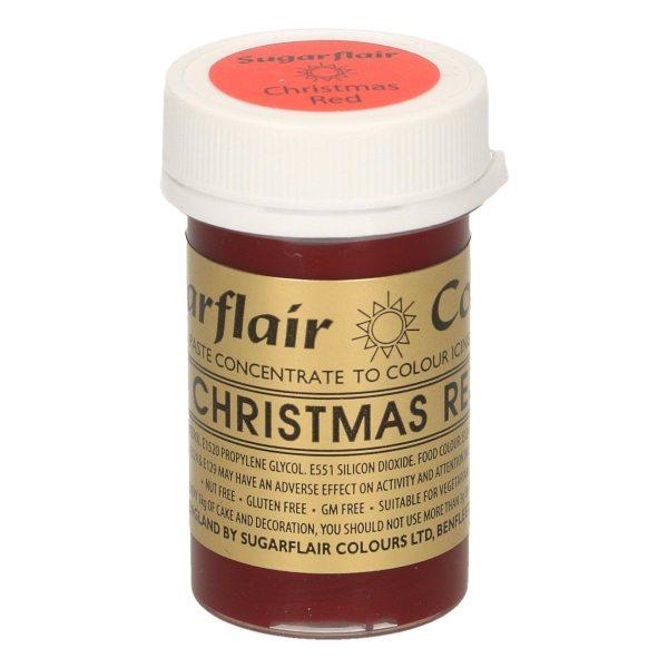 Sugarflair Paste Colour CHRISTMAS RED, 25gr.