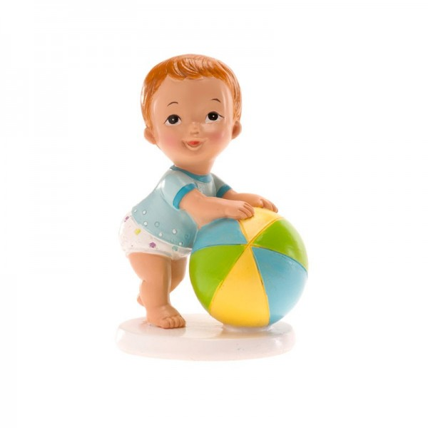 Tortenfigur - Junge mit Ball -